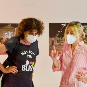 La Valigia dell'attore – 31 luglio 2021 – Fortezza I Colmi – Ore 11,00 - Giovanna Gravina e Elisabetta Castiglioni - foto ©Ugo Buonamici