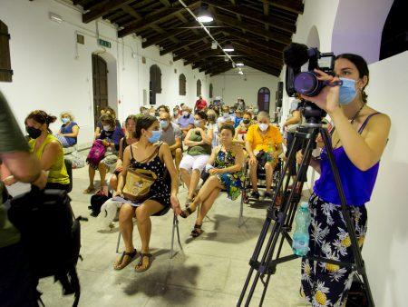 """La Valigia dell'attore – 31 luglio 2021 – Fortezza I Colmi – Ore 11,00 - Incontro con Pif presentazione del libro """"Io Posso"""" - foto ©Ugo Buonamici"""