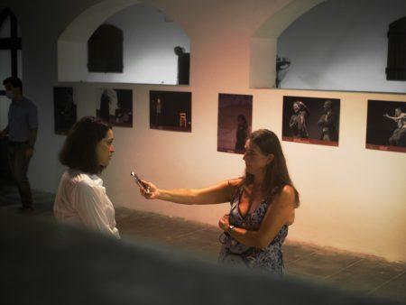 La Valigia dell'attore – 31 luglio 2021 – Fortezza I Colmi – Ore 21,15 -Barbara Sorrentini intervista Donatella Finocchiaro - foto ©Ugo Buonamici