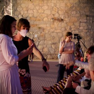 La Valigia dell'attore – 31 luglio 2021 – Fortezza I Colmi – Ore 21,15 - Donatella Finocchiaro - foto ©Ugo Buonamici