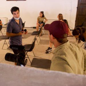 La Valigia dell'attore – 1 agosto 2021 – Fortezza I Colmi – Ore 11,00 - Il campo magnetico dell'attore - foto ©Ugo Buonamici