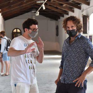La Valigia dell'attore – 30 luglio 2021 – Fortezza I Colmi – Jacopo Costantini e Alessandro Codina - foto ©Fabio Presutti
