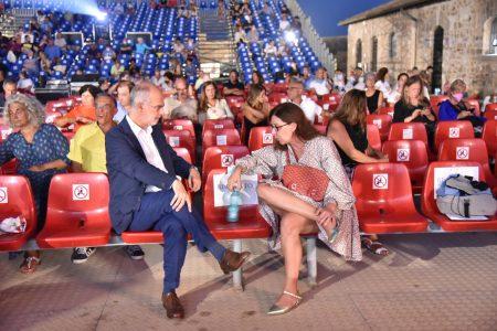 La Valigia dell'attore – 30 luglio 2021 – Fortezza I Colmi – Ore 21,15 - Fabio Ferzetti e Raffaella Lebboroni - foto @Fabio Presutti