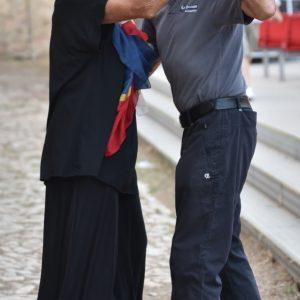 La Valigia dell'attore – 28 luglio 2021 – Fortezza I Colmi – Giovanna Gravina e Antonello Testone.(Ke Spettacolo) - foto © Fabio Presutti