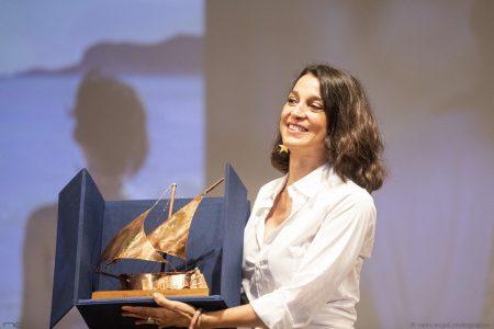 La Valigia dell'attore – 31 luglio 2021 – Fortezza I Colmi – Ore 21:15 - Premio Gian Maria Volonté 2021 a Donatella Finocchiaro - foto ©Nanni Angeli