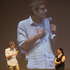 La Valigia dell'attore – 28 luglio 2021 – Fortezza I Colmi – Pierfrancesco Diliberto (Pif) e Silvia Scola - foto ©Nanni Angeli