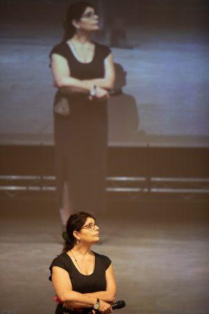 La Valigia dell'attore – 28 luglio 2021 – Fortezza I Colmi – Silvia Scola - foto ©Nanni Angeli