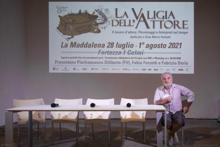 La Valigia dell'attore – 30 luglio 2021 – Fortezza I Colmi – Ore 11,00 - Incontro - foto ©Nanni Angeli