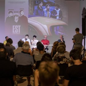 La Valigia dell'attore – 30 luglio 2021 – Fortezza I Colmi – Ore 11,00 - Incontro con Jacopo Costantini, Matteo Gatta, Maurizio Paganelli - foto ©Nanni Angeli