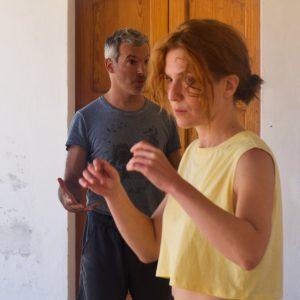 Valigialab 2021 – giorno 1: Laboratorio residenziale gratuito sulle tecniche di recitazione condotto da Isabella Ragonese con la collaborazione di Fabrizio Deriu e Giuseppe Sangiorgi - ph ©Ugo Buonamici
