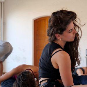 Valigialab 2021 – giorno 5: Laboratorio residenziale gratuito sulle tecniche di recitazione condotto da Isabella Ragonese con la collaborazione di Fabrizio Deriu e Giuseppe Sangiorgi - ph ©Ugo Buonamici